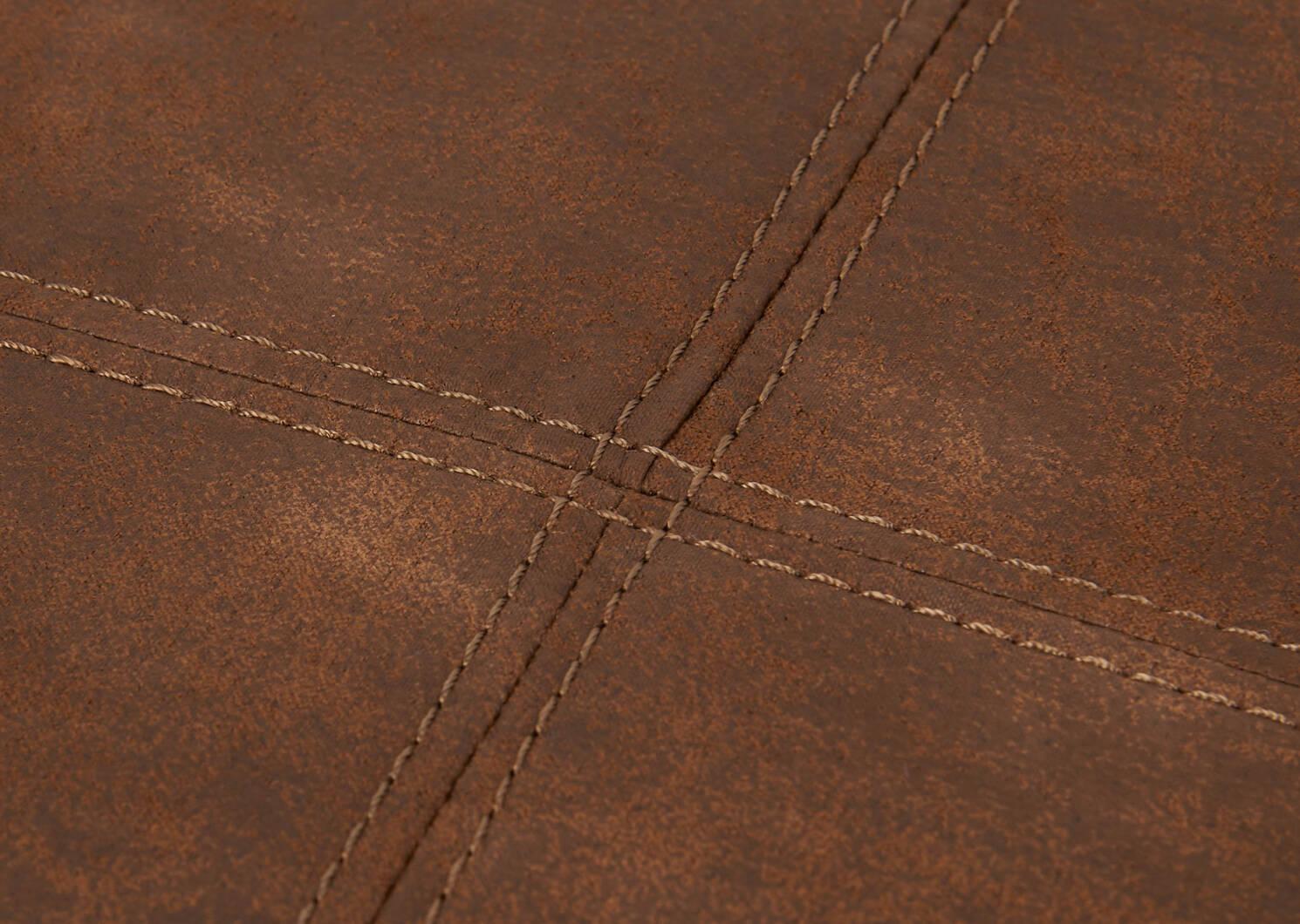 R-pieds carré Tarek -Pierre brun clair