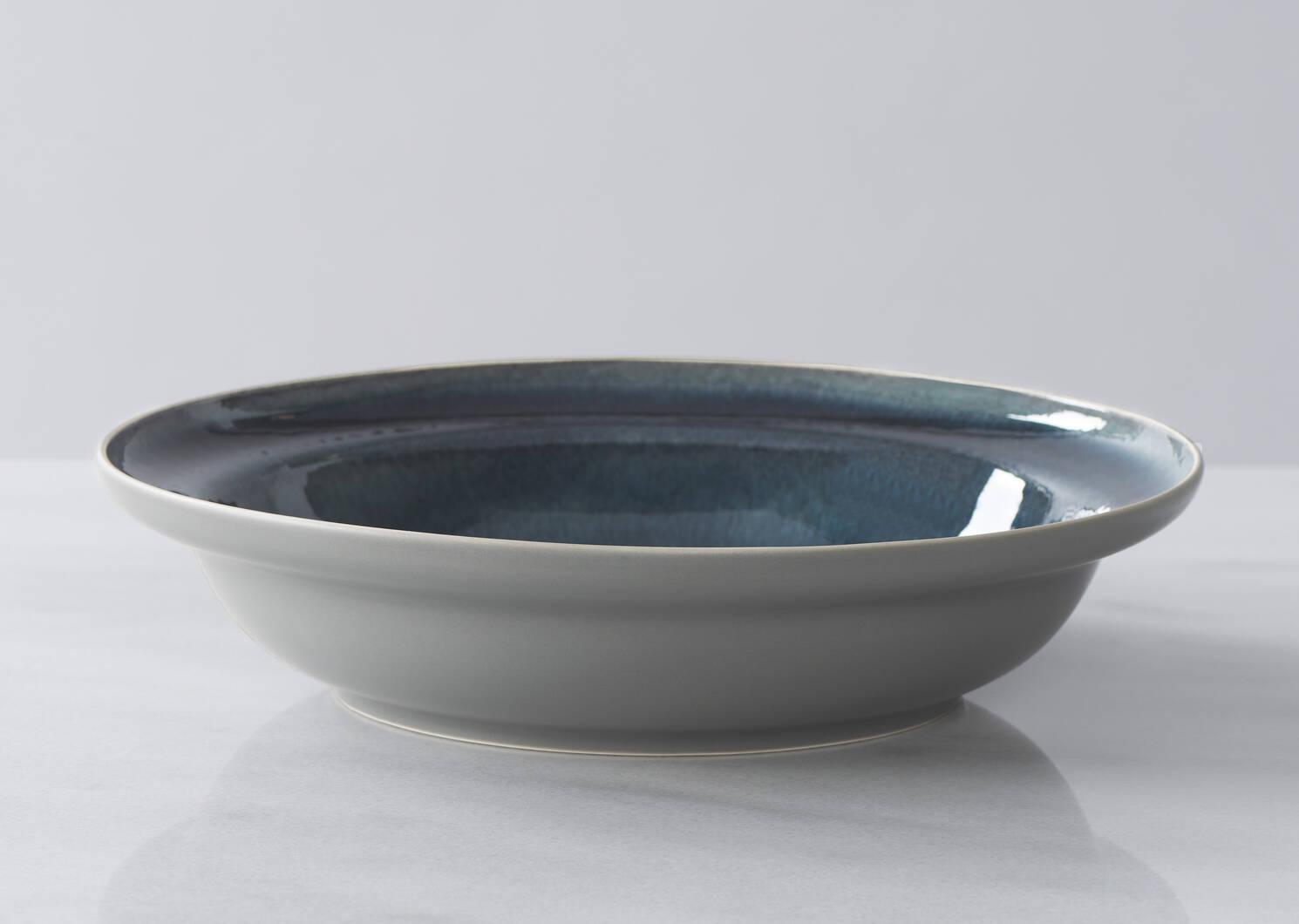Kitsilano Serving Bowl Blue