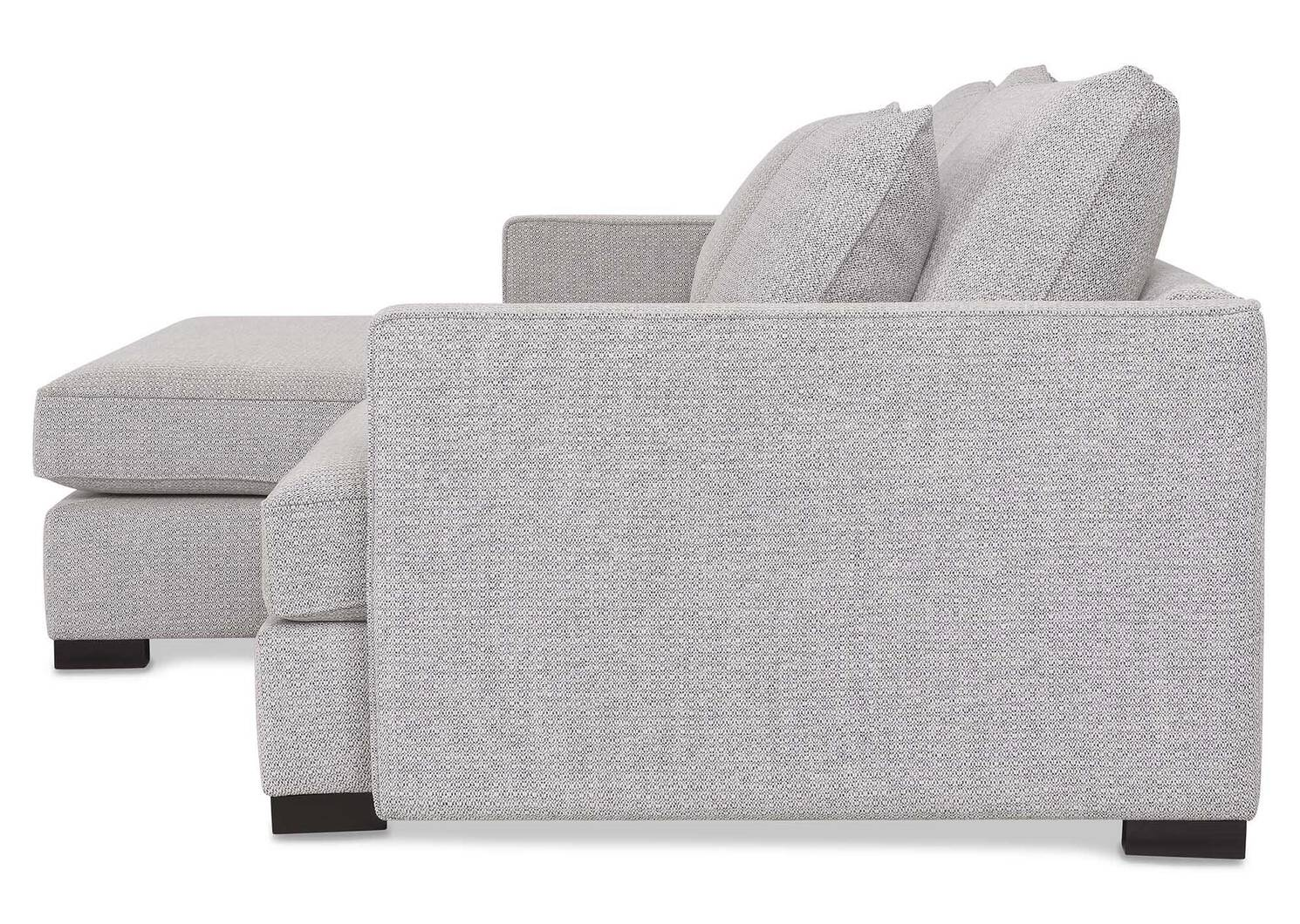 Sibley Sofa Chaise -Willow Static