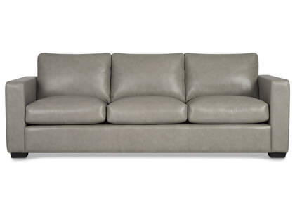 Brewer Custom Leather Sofa