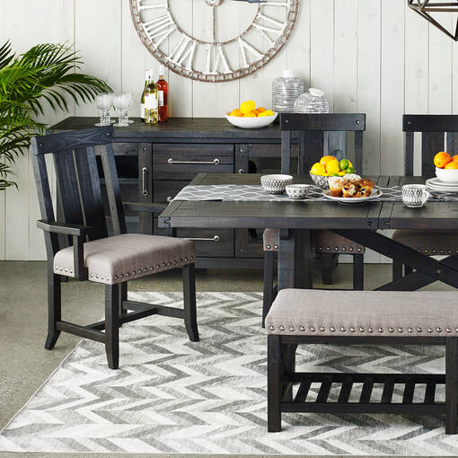 Ironside Bench -Café Grey