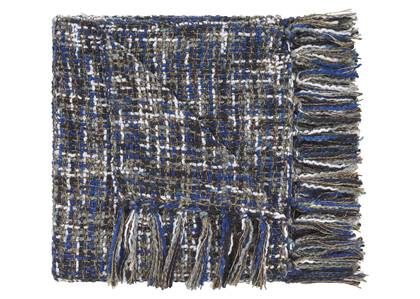 Betina Throw Midnight/Blue Quartz