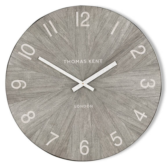Mendel Wall Clock Medium Grey
