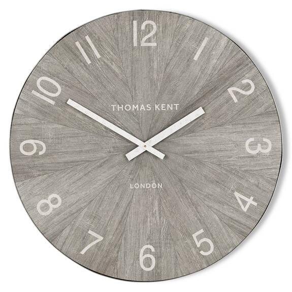Mendel Wall Clock Medium Grey
