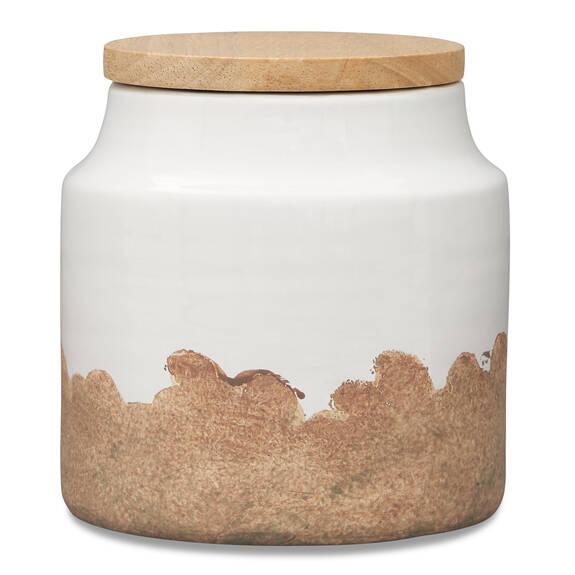 Vanna Canister Milk/Natural