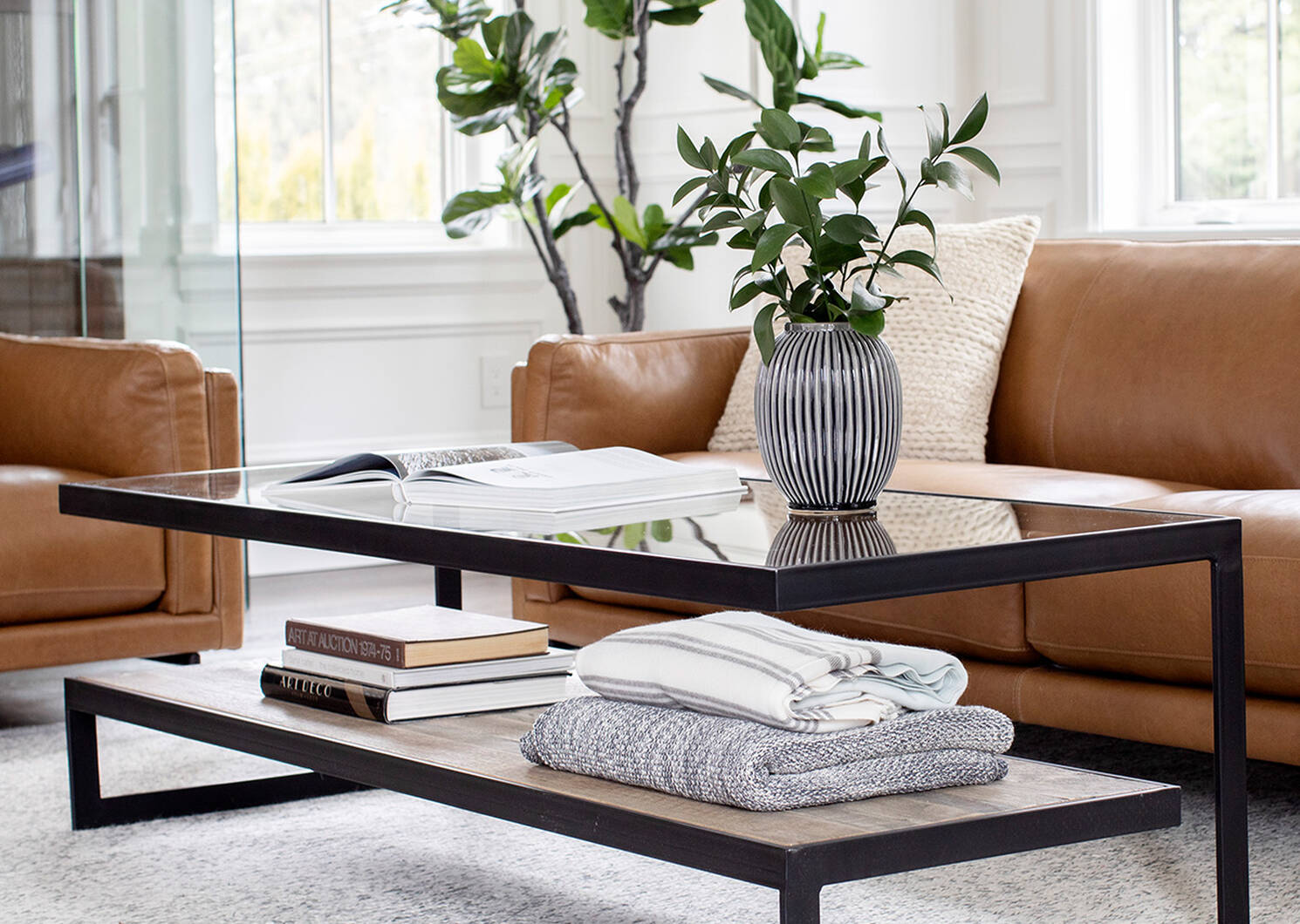 Mitchell Coffee Table -Aspen Oak