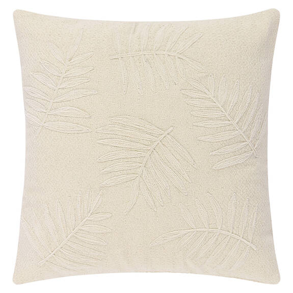 Paulo Frond Toss 20x20 Ivory/Natural