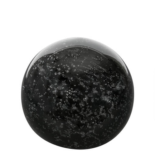 Anora Glass Ball Small Black