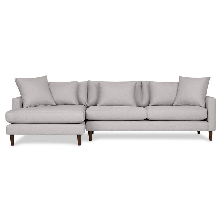Apartment Sofa With Chaise 1