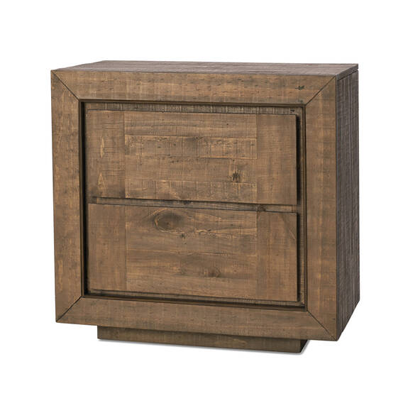 Mandalay Nightstand -Dune Brown