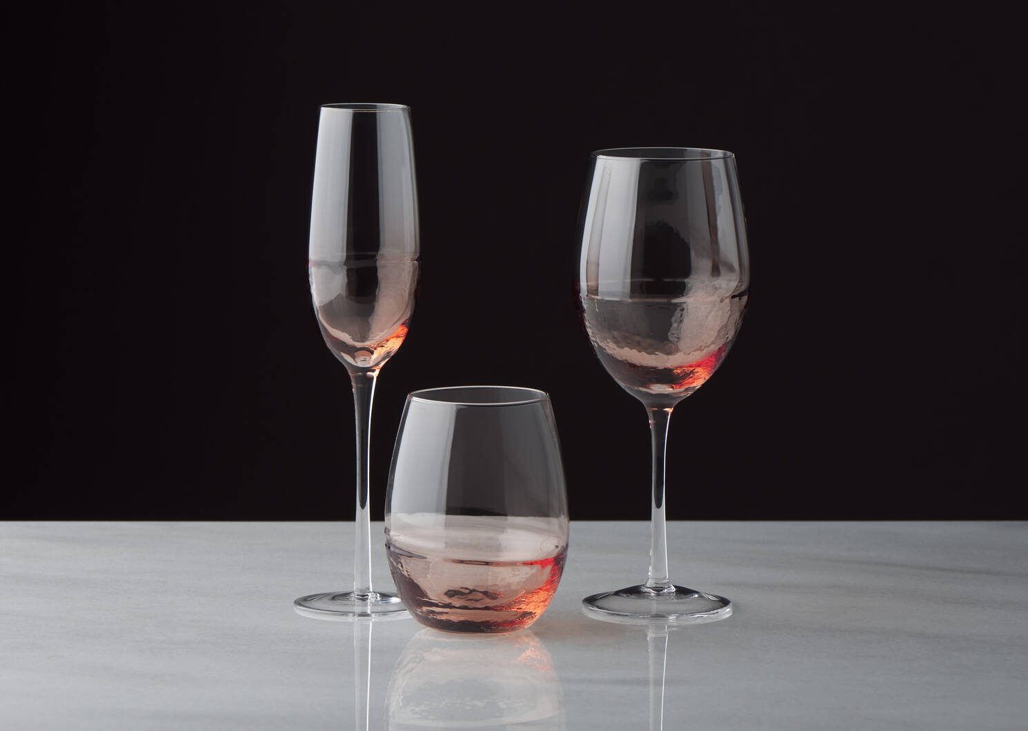 Verre à vin Niva terracotta