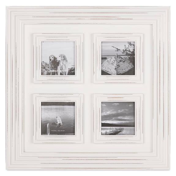 Cadre 4 photos Jayson 4x4 blanc