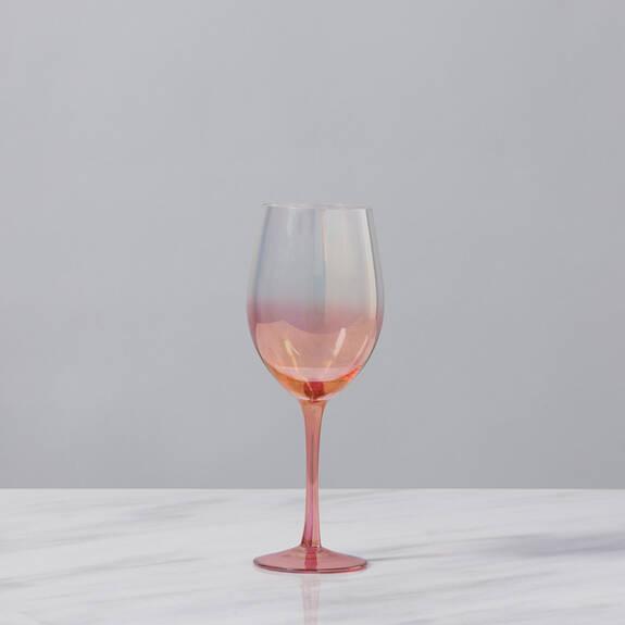 Verre à vin Chloe rouge