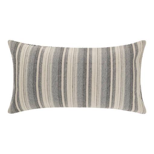 Jovie Stripe Toss 12x22 White/Atlanti