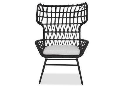 Chaise Wren noire -Ari nuage