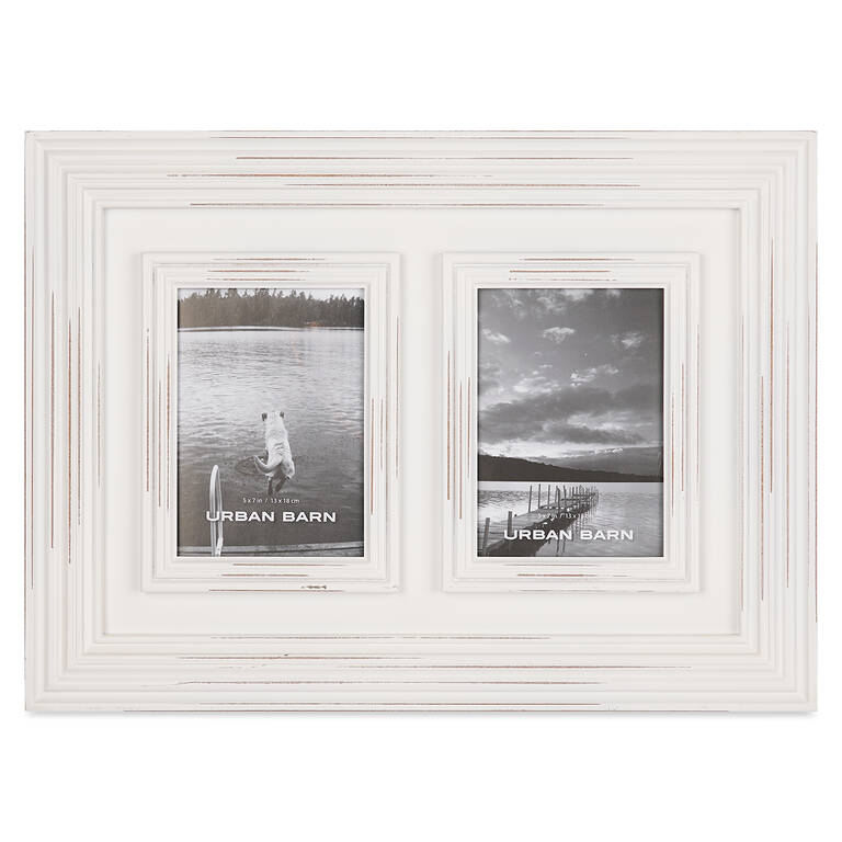 Jayson Frame 2-5x7 White