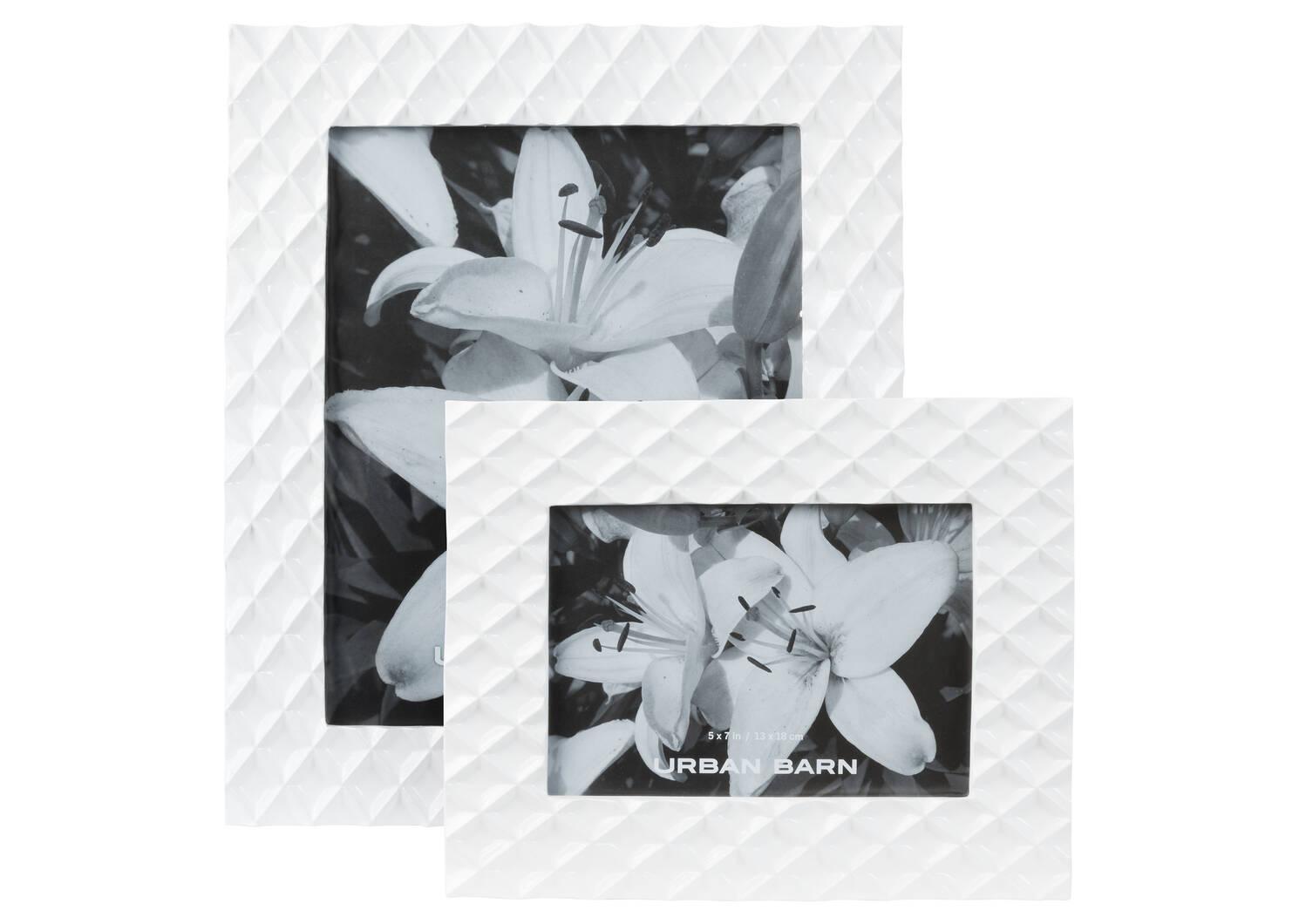 Kiara Frame 5x7 White