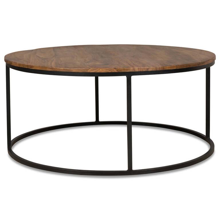 Crosby Round Coffee Table -Sheesham