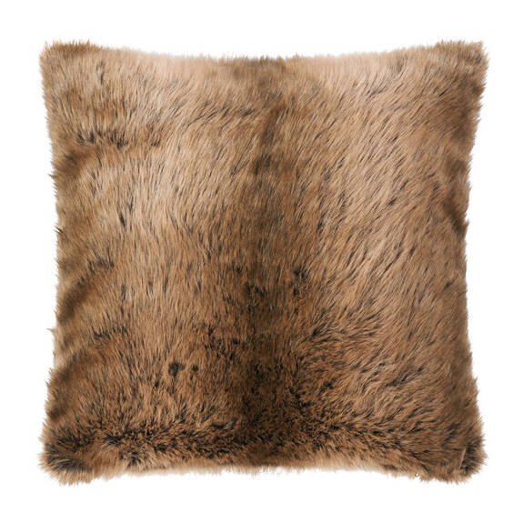 Fauna Faux Fur Toss 20x20 Sable