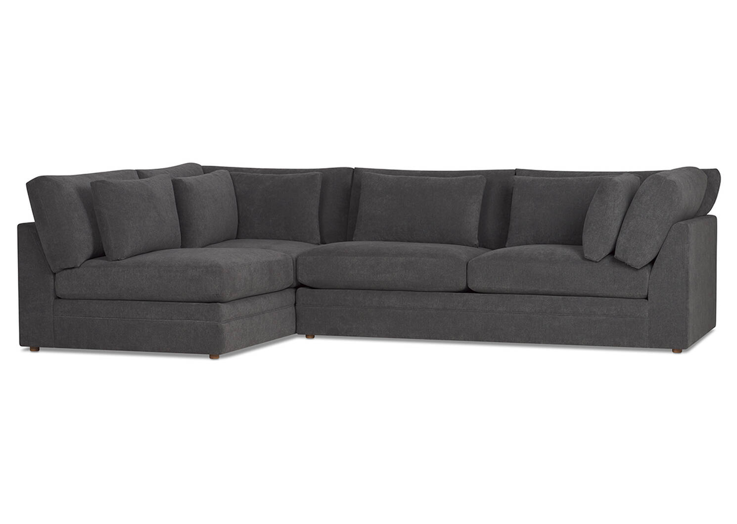 Antonio Sectional -Gilligan Fog