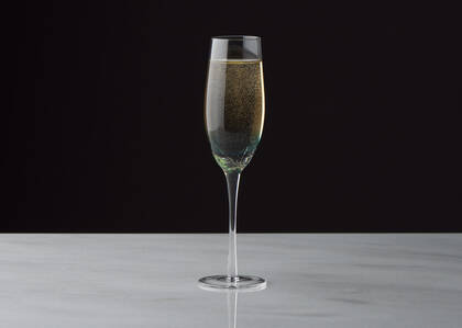 Lively Champagne Flute Teal