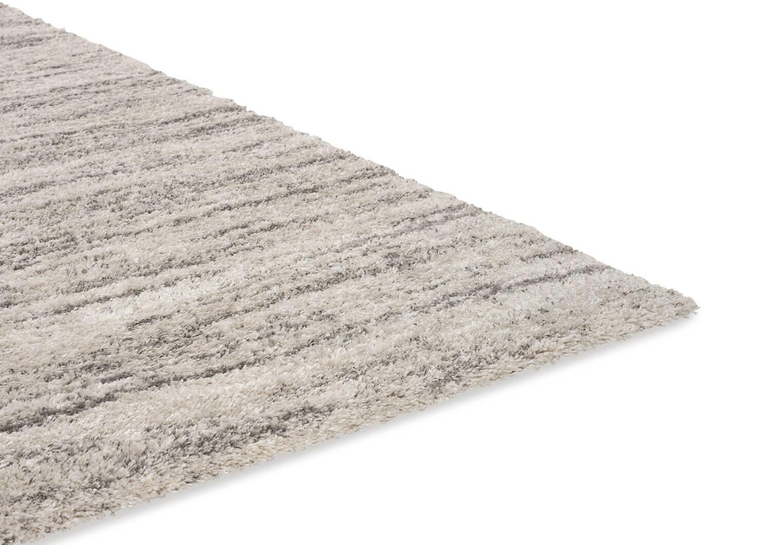 Tapis McGowan 63x90 gris pâle