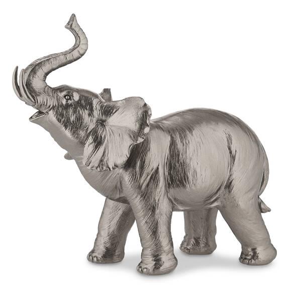 Meru Elephant Statue Pewter
