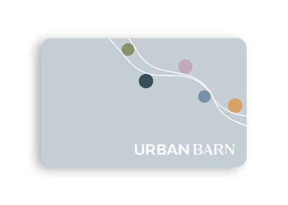 Urban Barn E-Gift Card, Birthday 25