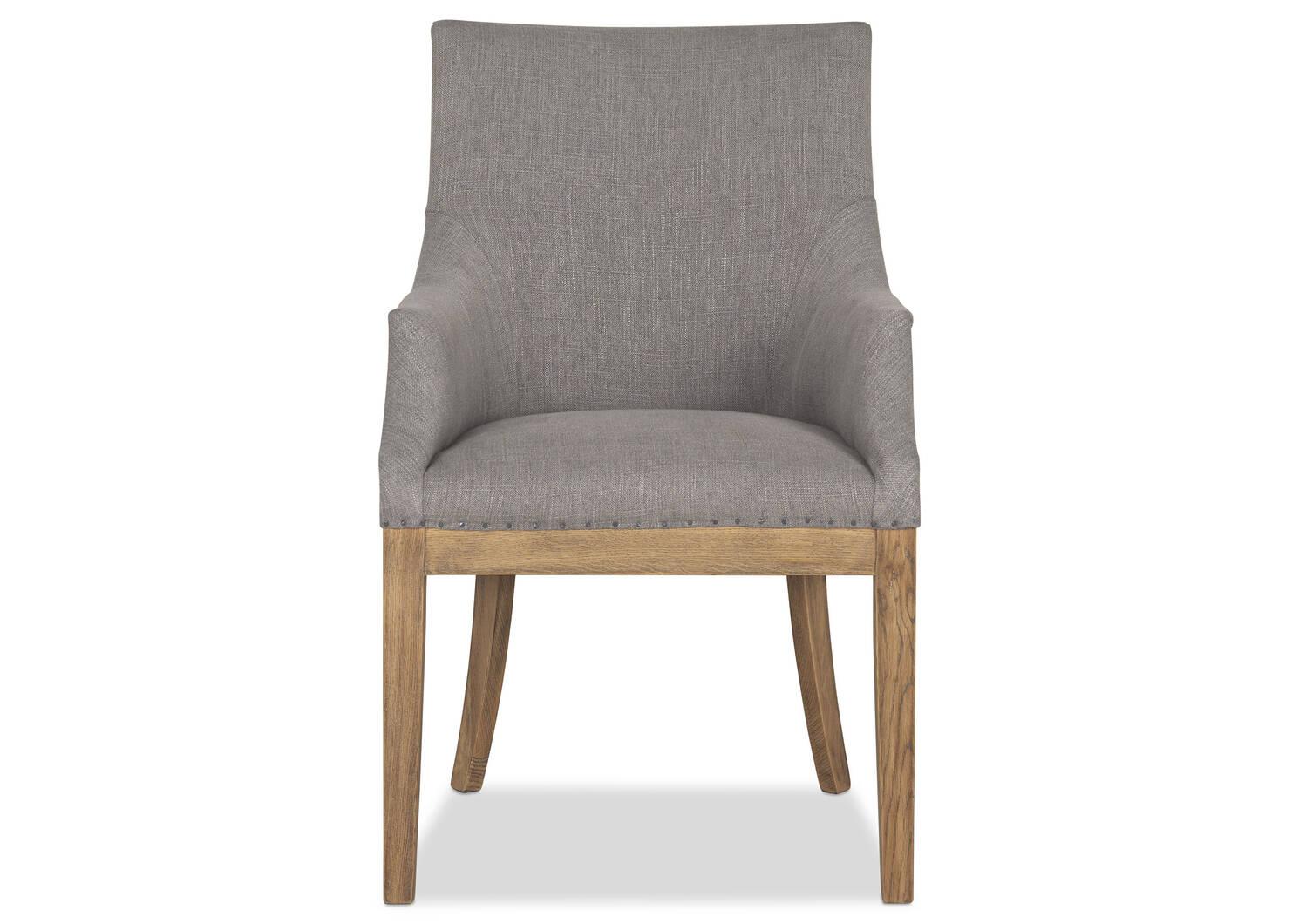 Decatur Host Chair -Nantucket Grey