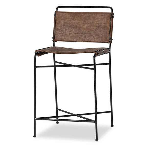 Emmory Counter Stool -Brown