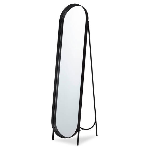 Miroir plein pied Britton noir