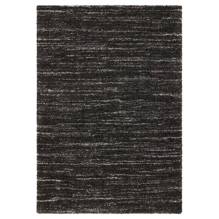 McGowan Rug 94x120 Dark Grey