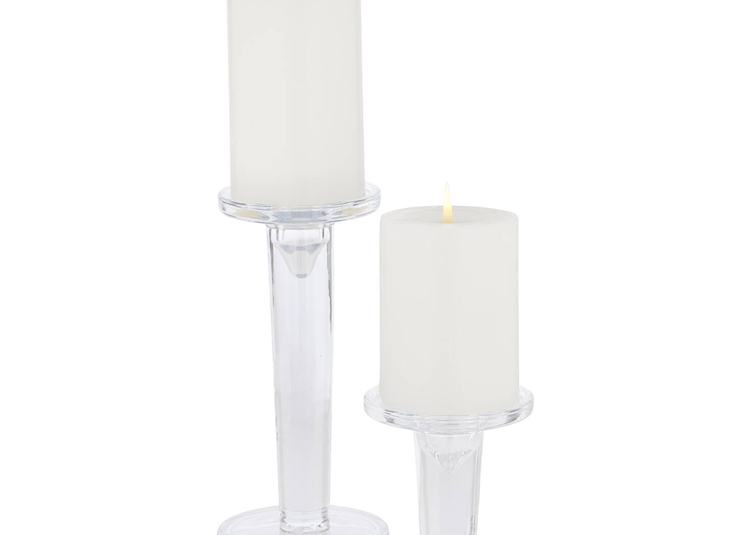 Alise Candle Holder Large Clear