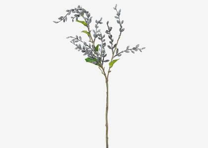 Branche de baies Adaya blanches/noires