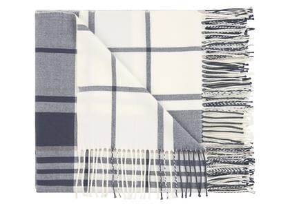 Watkins Plaid Throw Navy/Grey/Ivory