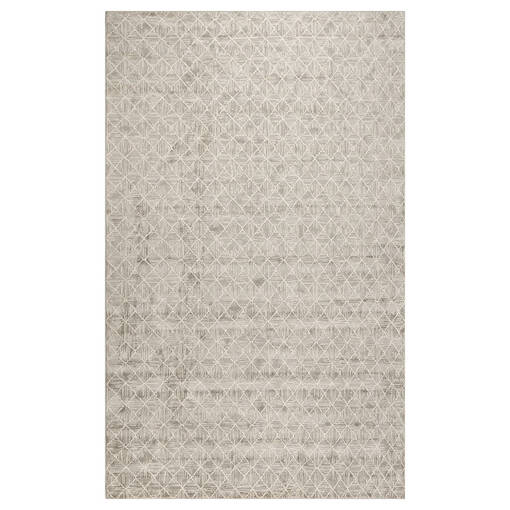 Sapphos Rug 63x90 Light Grey/Ivory