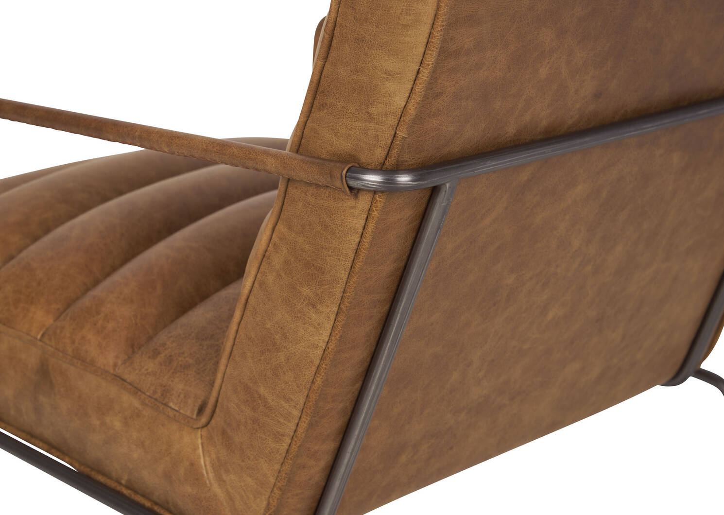 Damarco Leather Armchair -Alta Rum