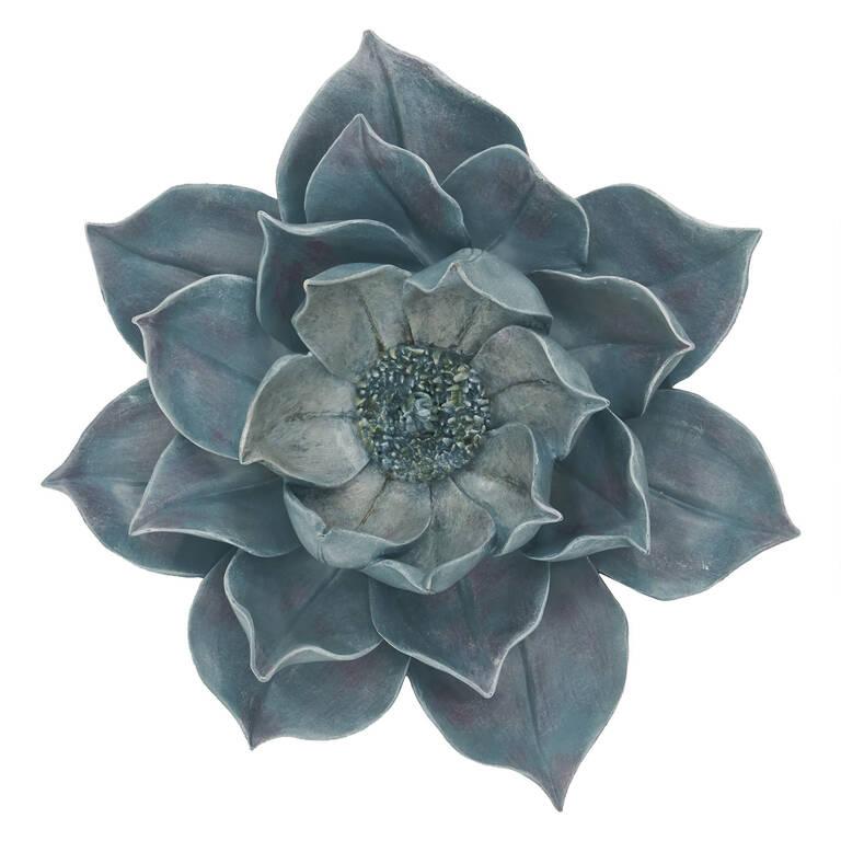 Bloom Wall Decor Large Cerulean