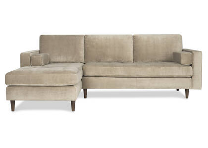 Reynolds Sofa Chaise -Gala Stone, LCF