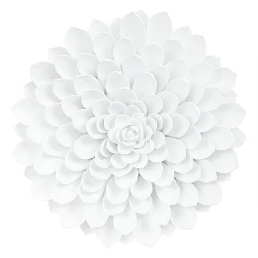 Très grande déco murale Floressa blanche