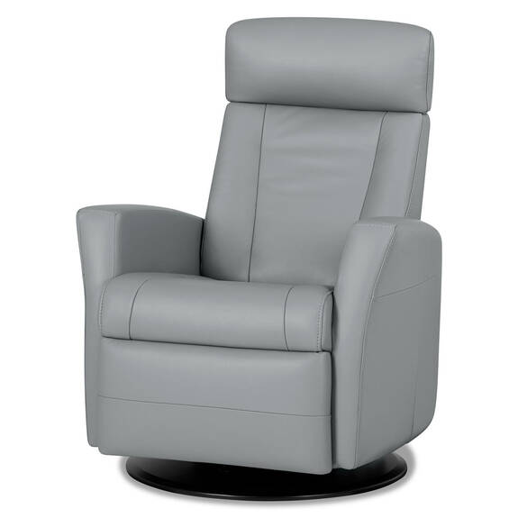 Belvedere Leather Recliner -Tre Storm