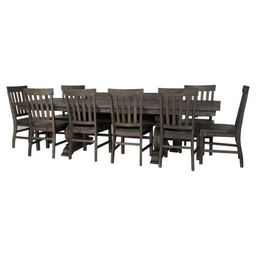 Churchill Ext Dining Table -Carob