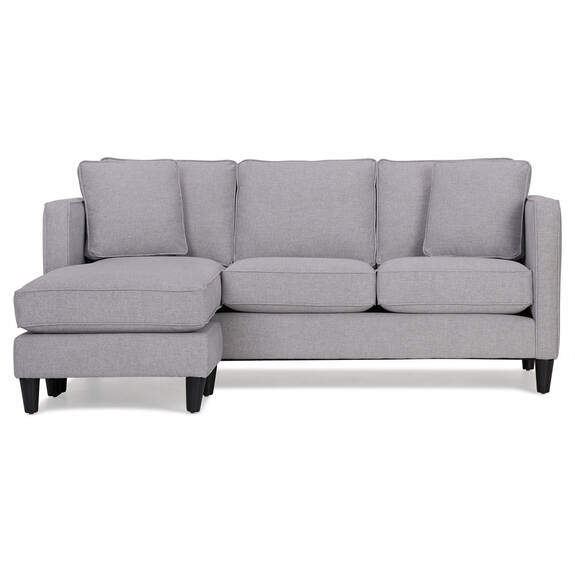 Lure Sofa Chaise -Element Silverdollar