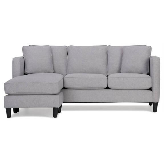 Lure Sofa Chaise -Element Silverdollar