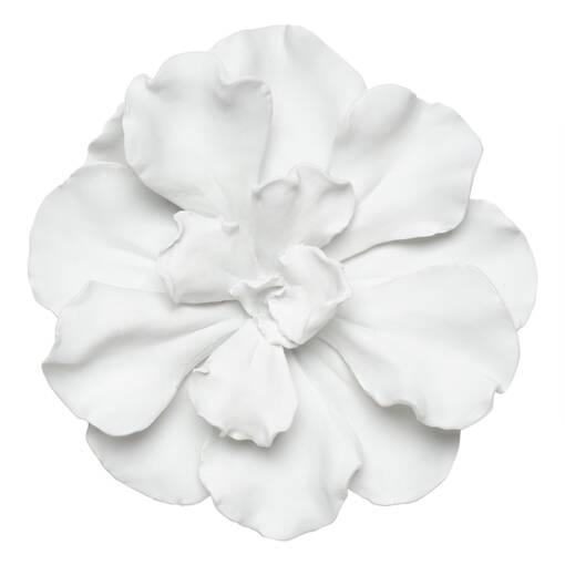 Petite déco murale Floressa blanche