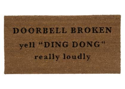 Ding Dong Doormat