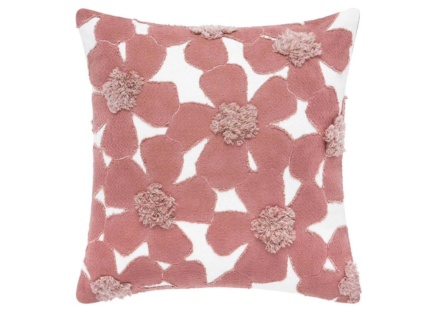 Camrose Floral Toss 20x20 Ivory/Pink