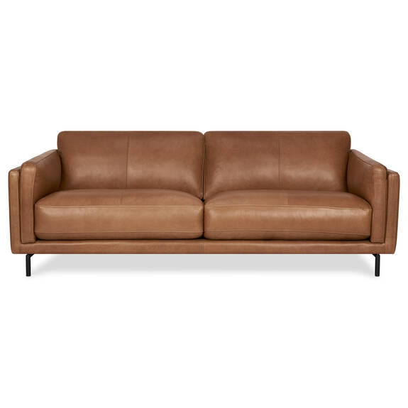 Renfrew Leather Sofa 80 -Adler Tan