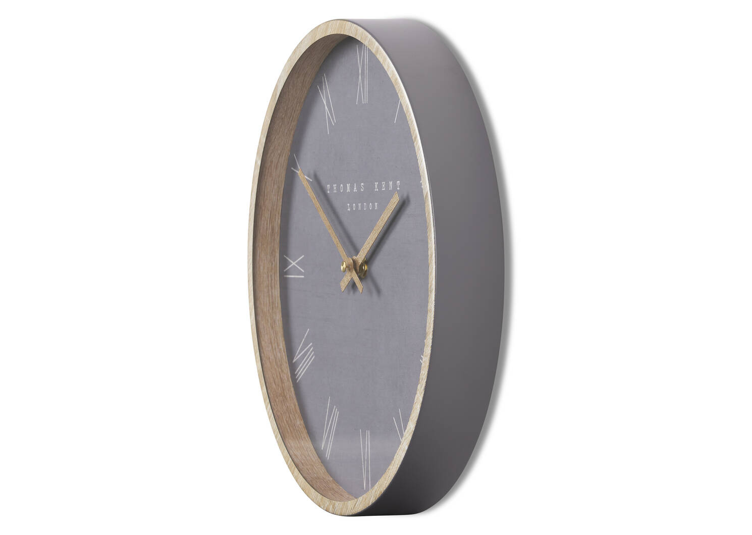 Calder Wall Clock Grey