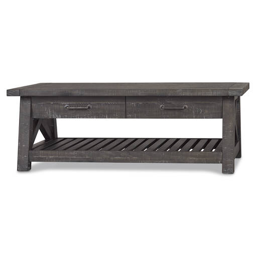Ironside Lift-Top Coffee Table -Smoke